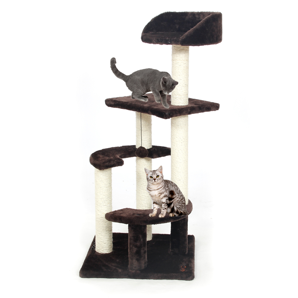 online buy wholesale cat tree wood from china cat tree wood  - domestic delivery cat toy scratching wood climbing tree cat jumping toywith ladder climbing frame cat