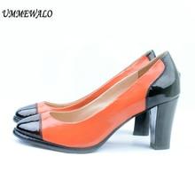 Wanita Round Sepatu Tinggi