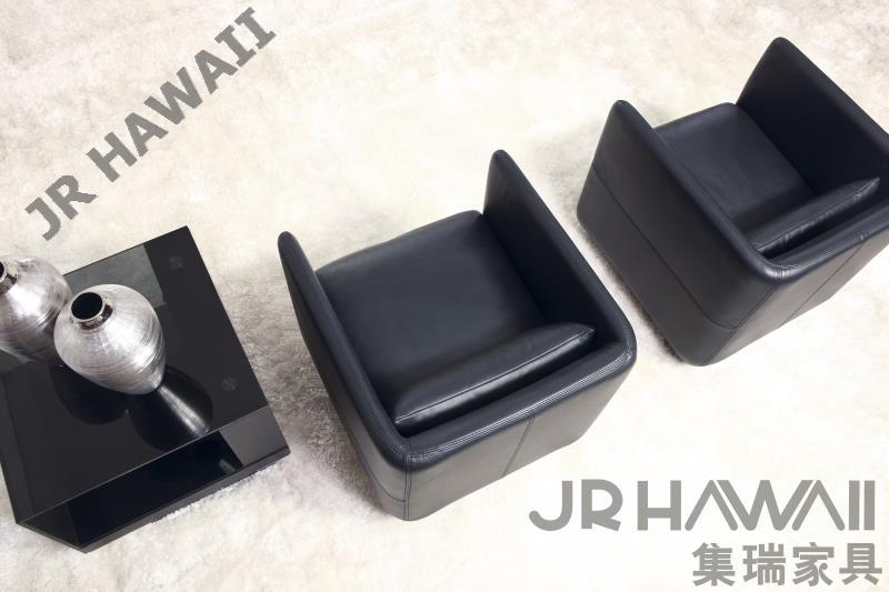 American style Top grade real leather leisure chairs set chair with armrest hot selling black genuine sofa chair