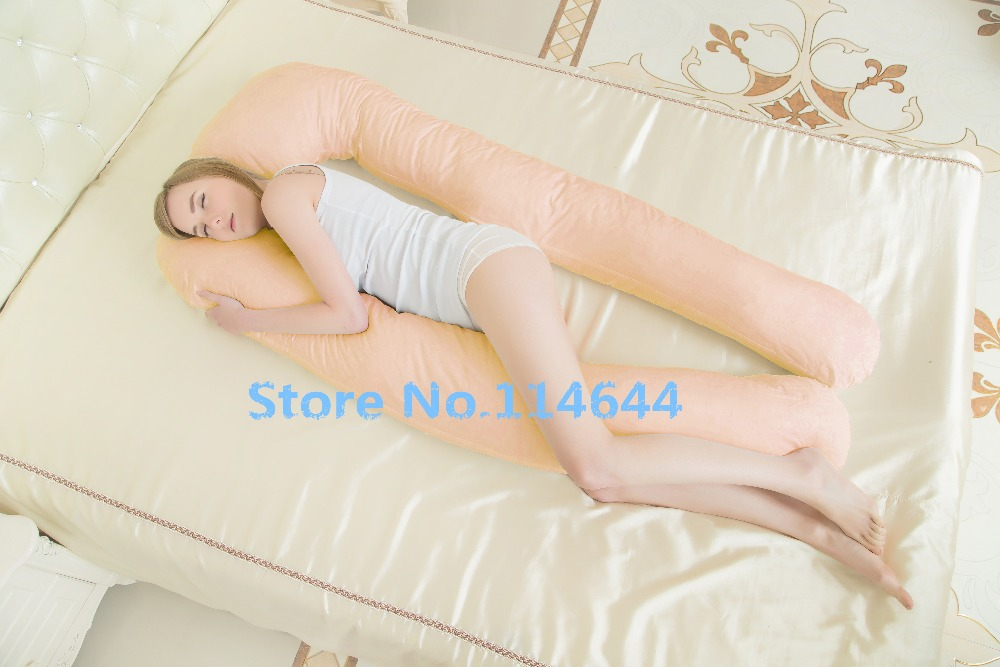 pregnancy Comfortable big U type pillows Body pillow For Pregnant Women Best  For Side Sleepers Removable 6color 152*72*22cm-in Body Pillows from Home ...