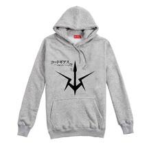 New 2016 CODE GEASS Hoodies Sweatshirts Anime clothes men's and women's autumn/winter coat Big yards Free shipping