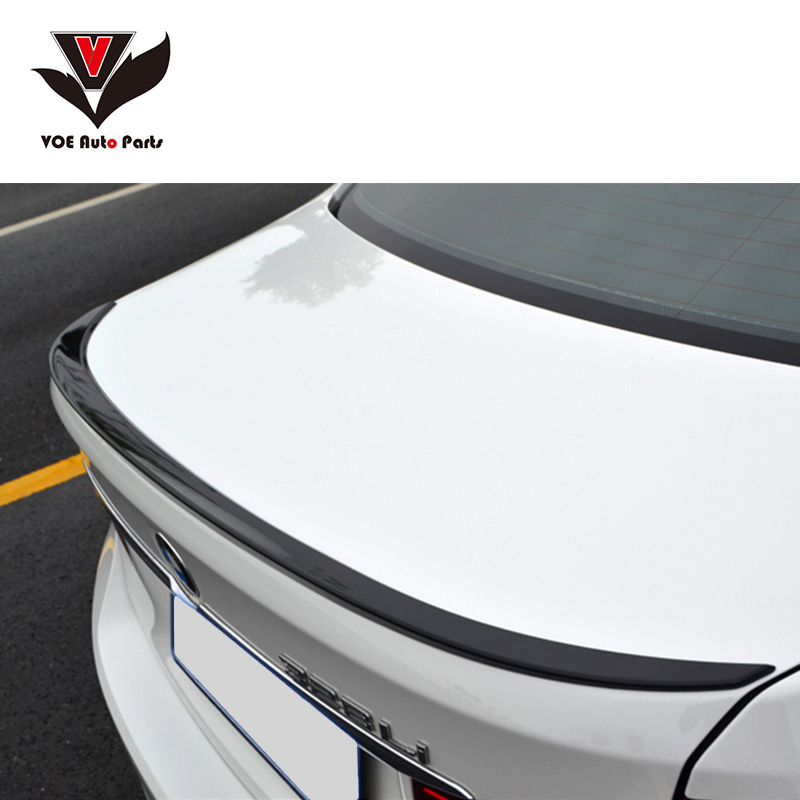 F30 M3 Style ABS Gloss Black painted Rear Wing Lip Spoiler for BMW 2013 2014 2015 2016 F30 3 Series 320i 328i 335i Sedan for 12 16 bmw 3 series f30 4dr trunk spoiler oem painted match a83 glacier silver