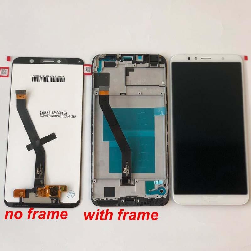 HTB18Z7 Kf9TBuNjy0Fcq6zeiFXaq Original 5.7 inch for Huawei Honor 7C aum-L41 Aum-L41 LCD Display Touch Screen Digitizer Assembly For Huawei ATU LX1 / L21+Frame