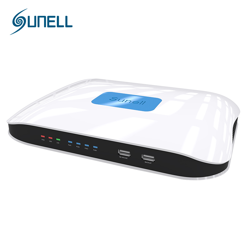 Sunell QN14P 4CH 1080P NVR 6MP Network Video Recorder Support P2P Ovifi Two Way Audio IOS