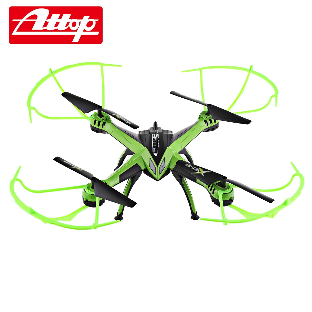 Attop A10 RC Camera Drone with 4CH 6-Axis Gyro 2.0MP HD Camera RC Quadcopter VS SYMA X5C syma x5c 1 2mp hd fpv camera 2 4ghz 4ch 6 axis rc quadcopter
