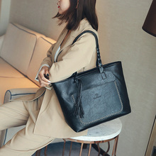 Large Capacity Women Leather Bag
