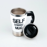 New Patent Self Stirring Coffee Cup Mugs Double Insulated Coffee Mug Automatic Electric Coffee Cups Smart