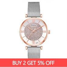 Top Brand Luxury Fashion Ladies Wristwatch