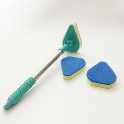 Listwa czyszcząca z mikrofibry wysuwana mata po prostu Glide produkt Mop mop z gąbką 3 w 1 nie martwy kątowy produkt do czyszczenia mopa w Szczotki do czyszczenia od Dom i ogród na