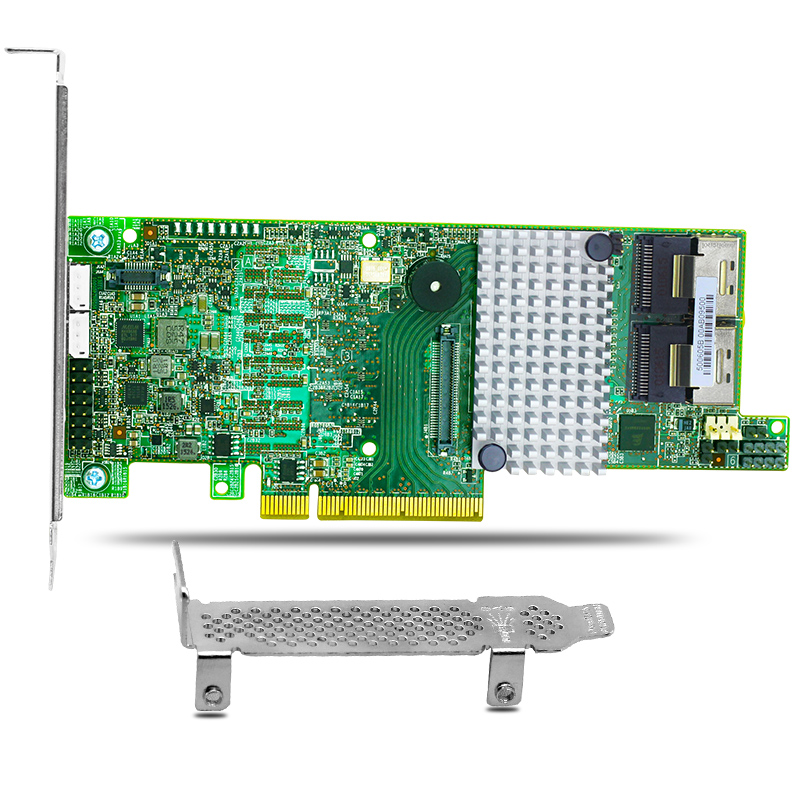 MegaRAID 9271-8i 8 Ports 6Gbps SATA/SAS Raid Controller Card PCI-E 3.0 1GB Cache 375 3536 sas raid with battery array card pci e sas card 100% test good quality