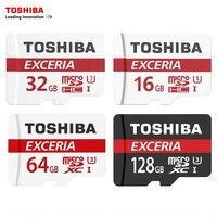 Toshiba Memory Card Micro SD Card 128GB 64GB 32GB 16GB Class10 UHS 1 U3 SDXC SDHC