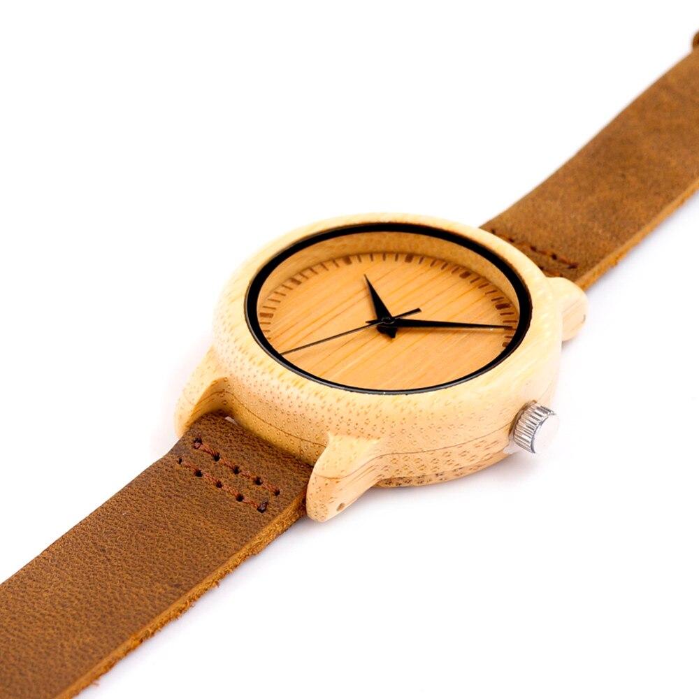 Prix pour Bambou en bois montre