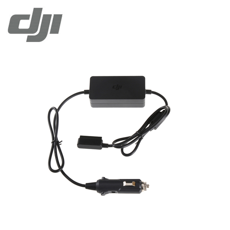 Original DJI Mavic Pro Car Charger used to charge the Intelligent Flight Battery through a car's cigarette lighter port