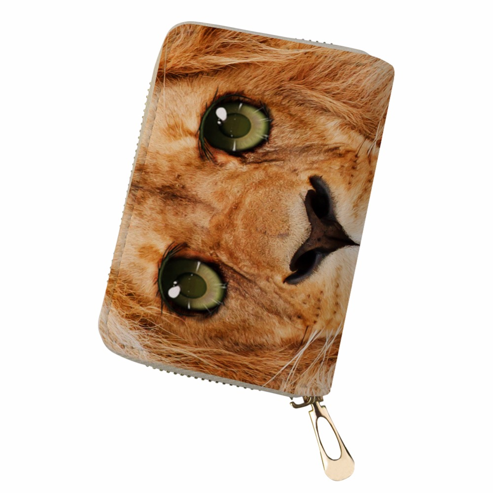 Customized PU Leather kaarthouder animals sparkling eye Cards Holder canta bag women pokemon cards Durable Pouch Bag
