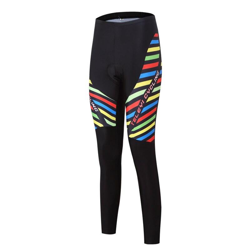 Ženske kolesarske hlače Pro kolesarske hlače črne športne MTB - Kolesarjenje - Fotografija 4