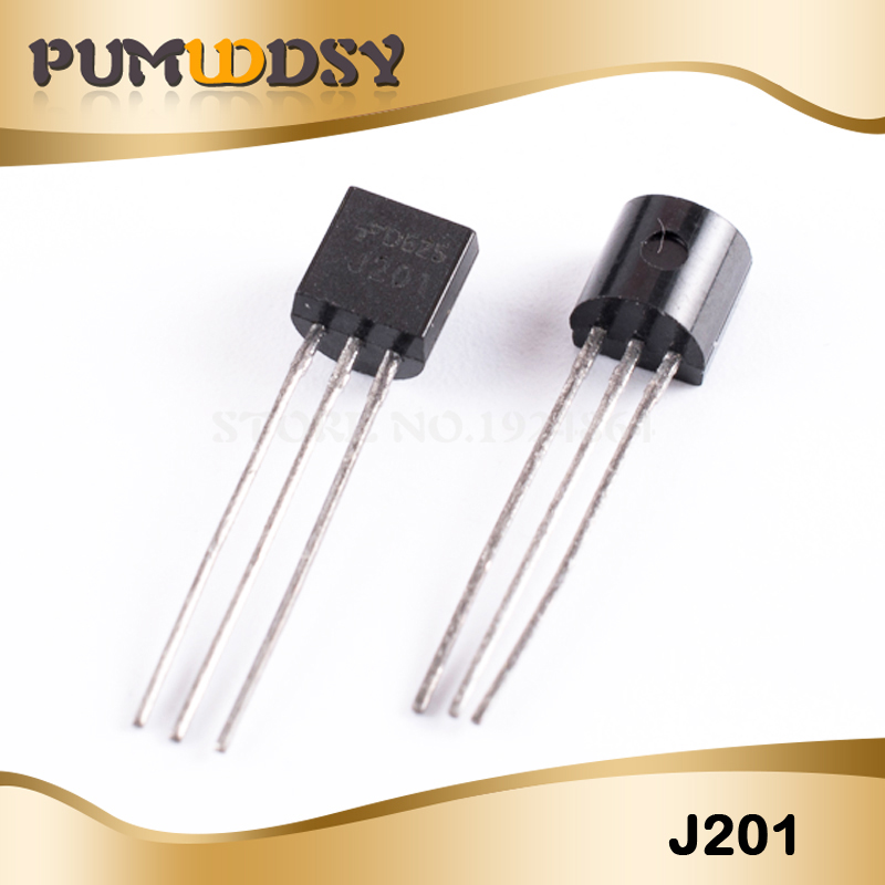 10pcs J201 TO92 JFET N-Channel Transistor 50A 40V NEW GOOD QUALITY