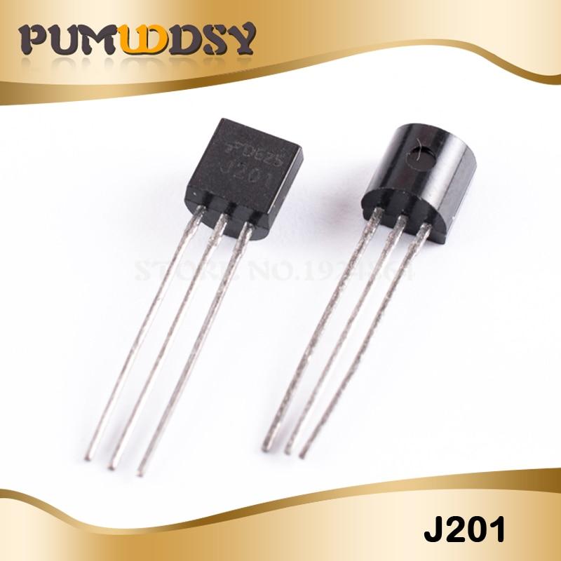 10pcs J201 TO92 JFET N-Channel Transistor 50A 40V NEW GOOD QUALITY