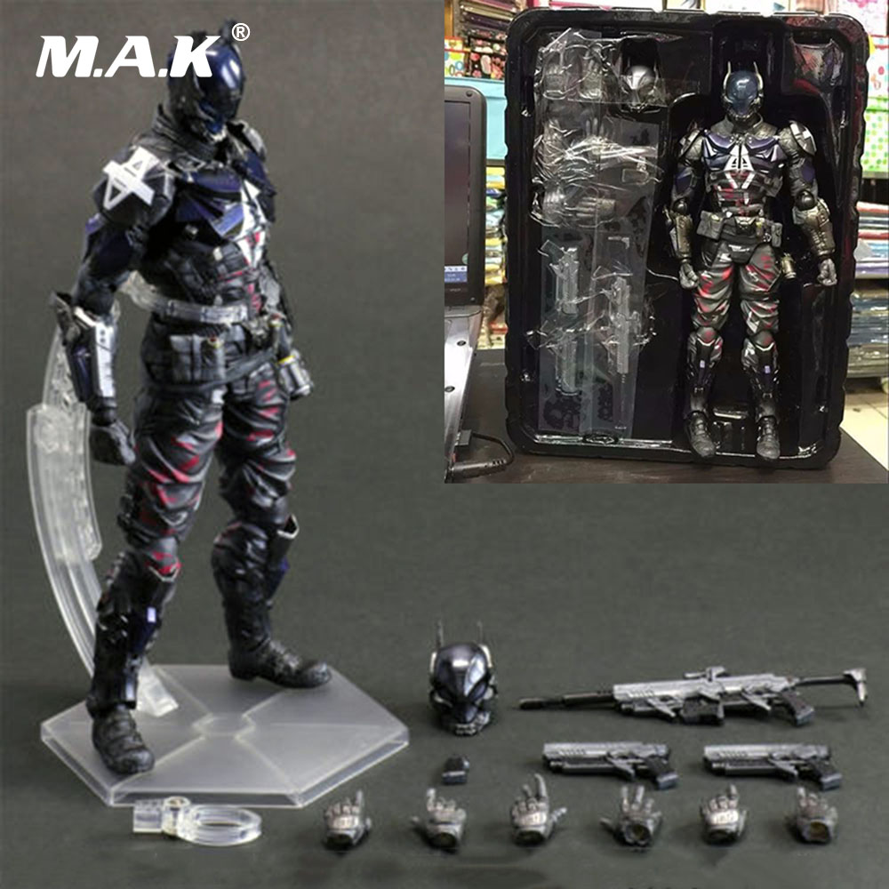About 27 cm Batman Arkham Knight Action Figure Model Toys PVC Action Figure Statue Collection Model Toys for Boys Children цена