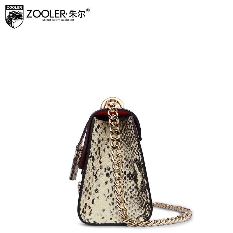 Гарячі ZOOLER сумка з натуральної шкіри - Сумки - фото 5