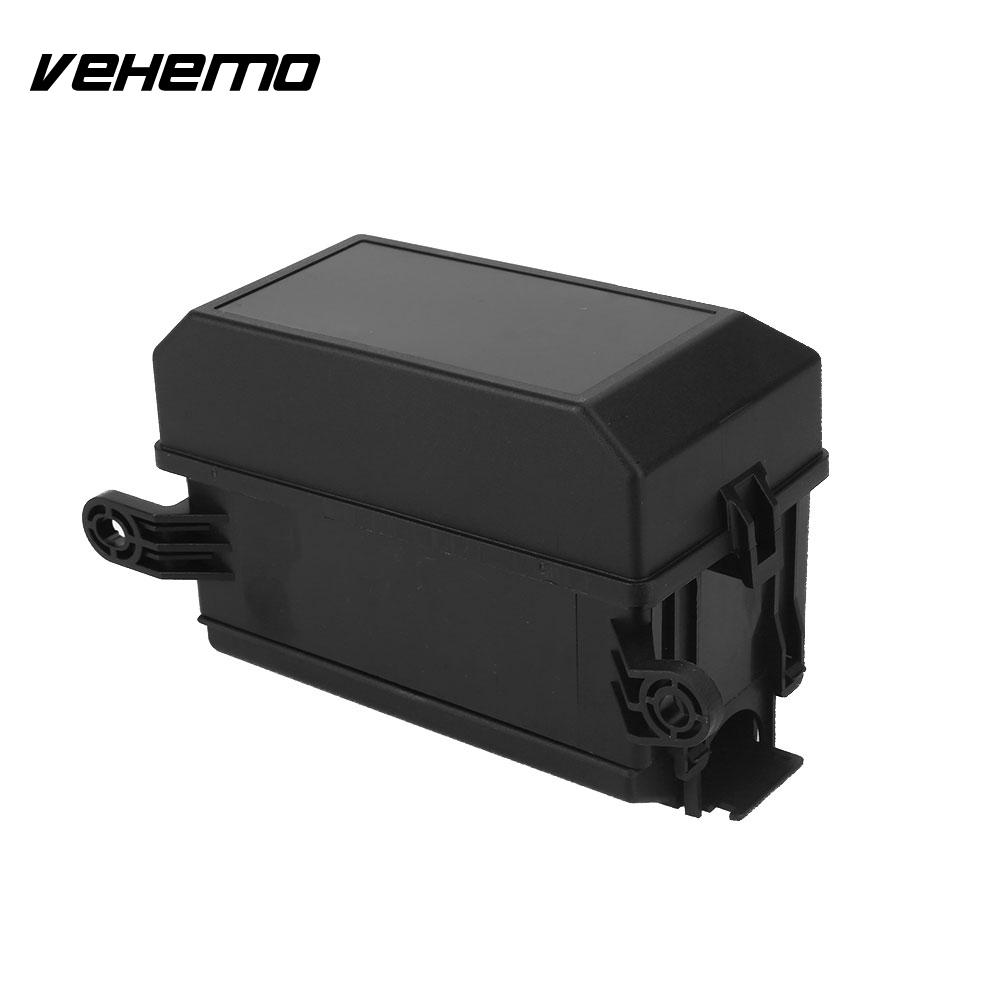 Vehemo Car Fuse Box Fuse Box Holder 5 Road Black Replacement 6 Relay Block  Holder DC 12V 20A with 33 Pins Durable Universal-in Fuses from Automobiles  ...