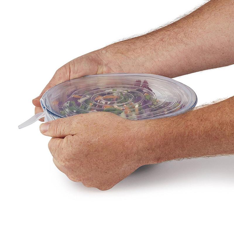 Drop-shipping-6Pcs-Set-Reusable-Universal-Silicone-Saran-Wrap-Cover-Lids-Food-Bowl-Pot-Stretch-Kitchen (3)