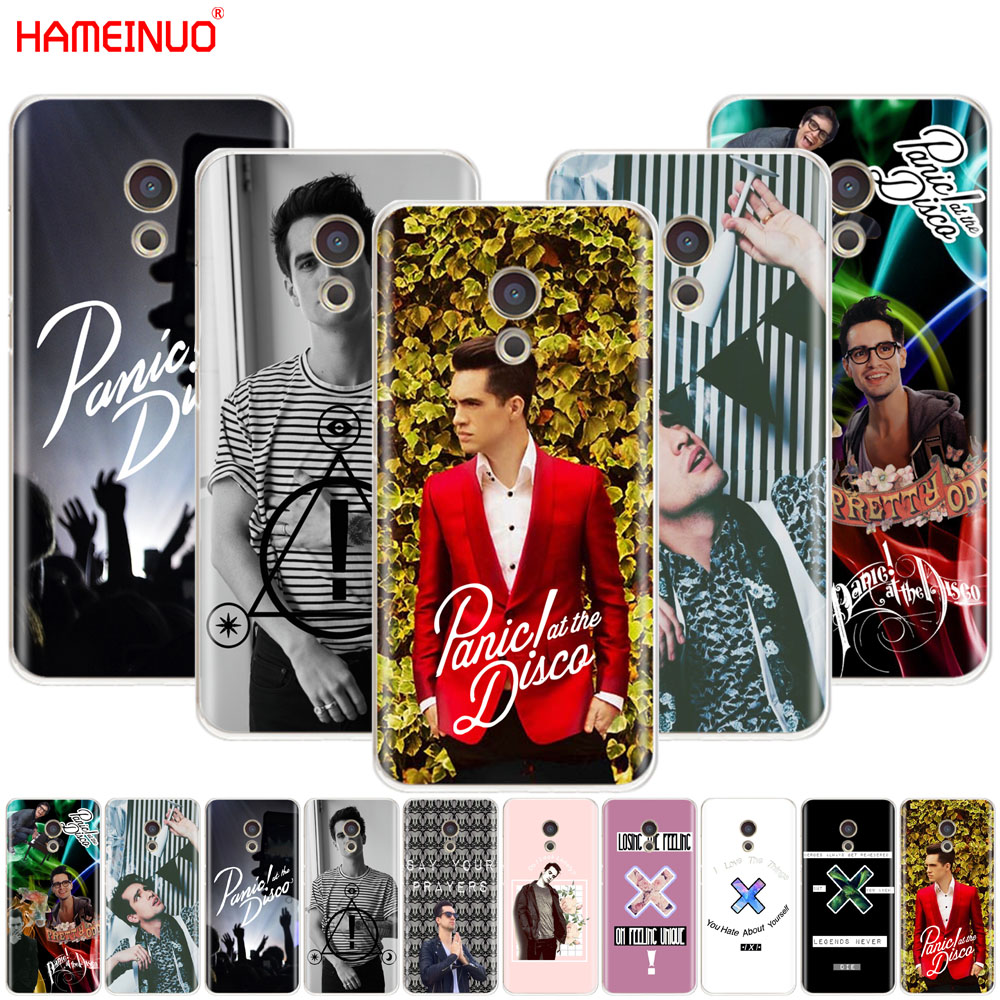 HAMEINUO brendon urie Panic At The Disco Cover phone Case for Meizu M6 M5 M5S M2 M3 M3S MX4 MX5 MX6 PRO 6 5 U10 U20 note plus