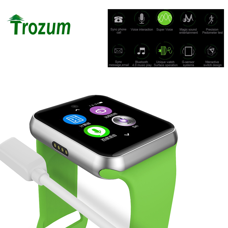 Trozum DM09 Bluetooth Smart Watch 2 5D ARC HD Screen Support SIM Card Wearable Devices SmartWatch