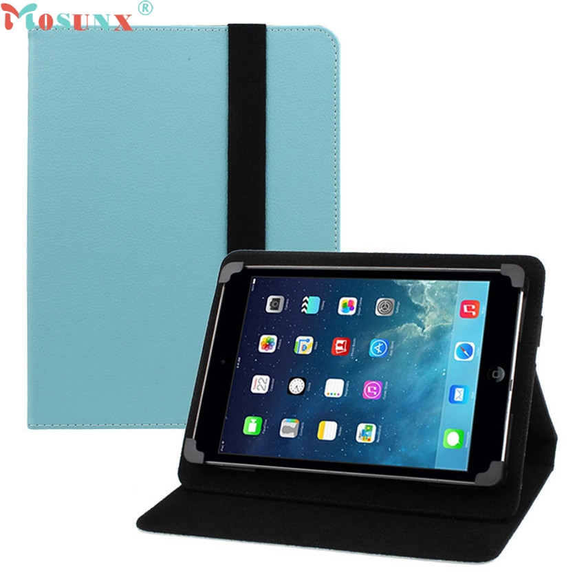 Mosunx Simplestone Universal 7 inch Leather Stand Skin Case Cover For PC Android Tablet oct29 luxury pu leather cover case for tablet 7 inch universal cases protective skin android tablet pc pad 7 accessories m4d69d