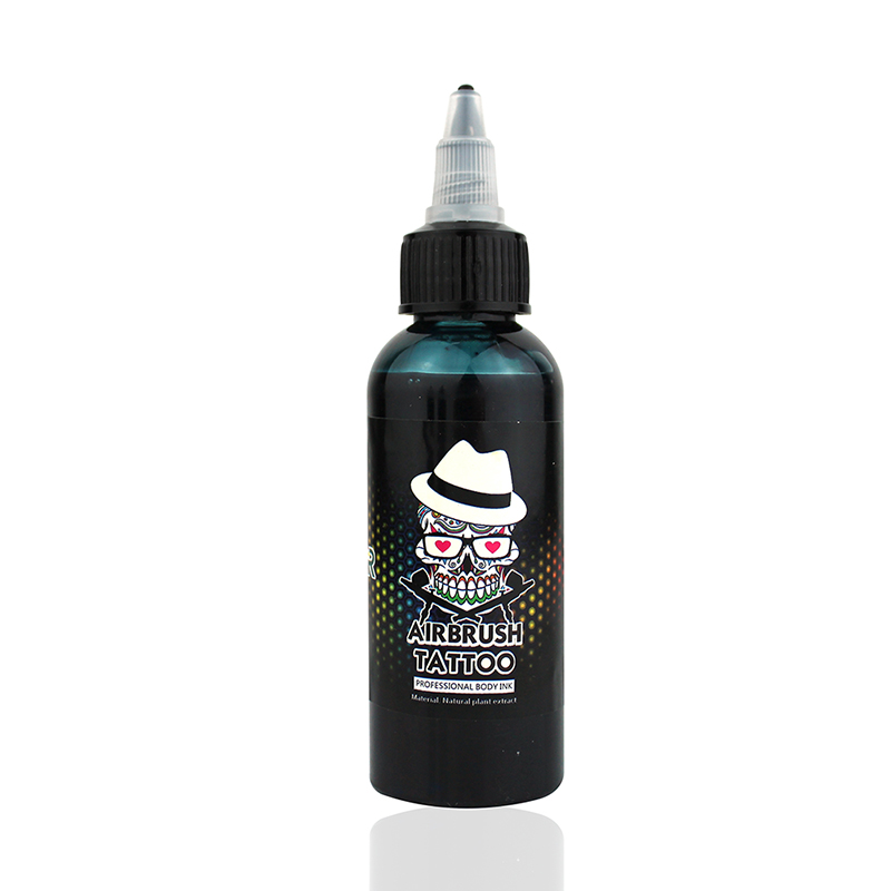 OPHIR 60 ML/Bottle Airbrush Ink Black/Red/Blue/Tattoo Color for Body Paint Temporary Tattoo Ink Pigment Body Art Color _TA099-1 21
