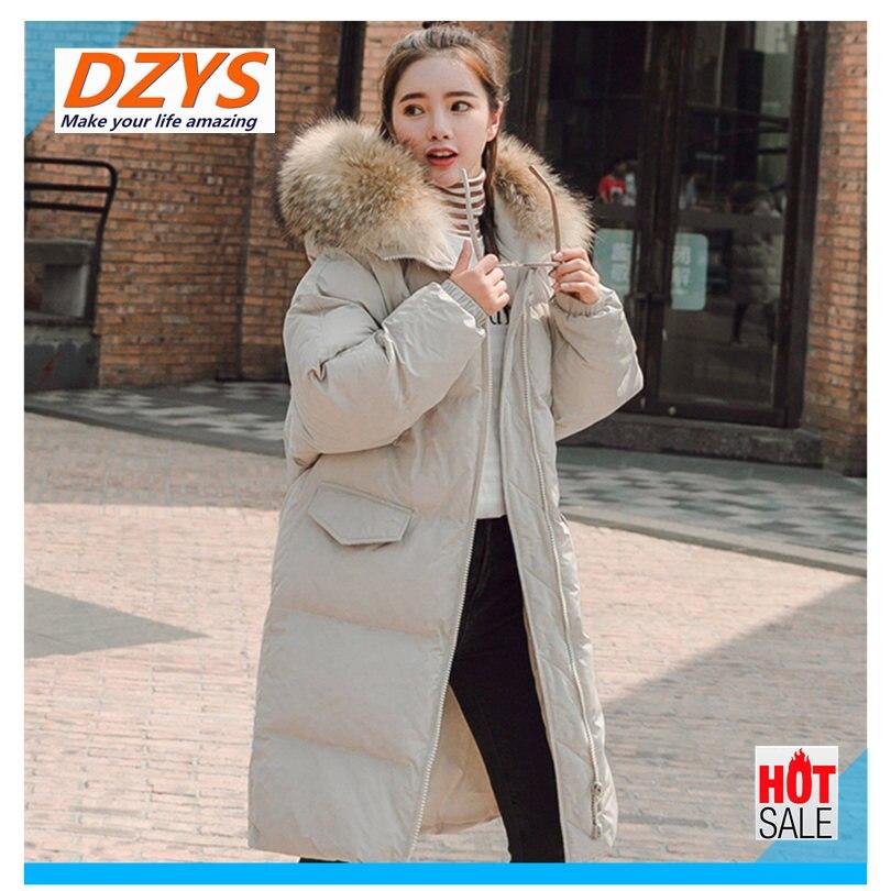 Vêtements Le Nouveau De Beige ldx Long D'hiver Dzys Vers Épaississement Manteau azure Femmes 2018 Bas Coton black lKJFT1c