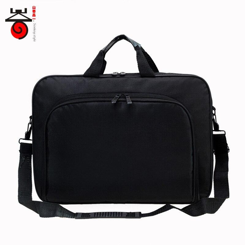 2018 New Fashion Business Men Bag Casual Shoulder Bags 15.6 inch laptop Computer Handbag Large-capacity Crossbody Male Briefcase fashion business men