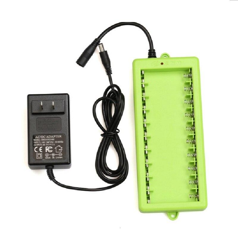 ZNTER 10 Pçs/set AA Bateria Recarregável de 1.5 V 2A 1250 mAh Bateria Bateria De Lítio de Carregamento USB com Cabo Micro USB e carregador - 3