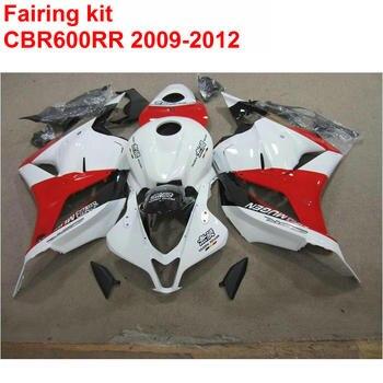 Injection ABS Full Fairing Kit For HONDA CBR600RR 2009 2010 2011 2012 CBR 600 RR Red Black White Fairings Set 09 10-12 SZ66