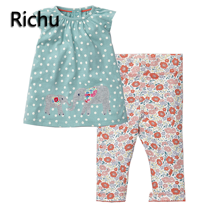 CHILDREN clothing set girl sets in kids sleeveless blouse+pants girls clothes manufacturers china christmas outfits 3years Richu christmas kids clothing sets 100