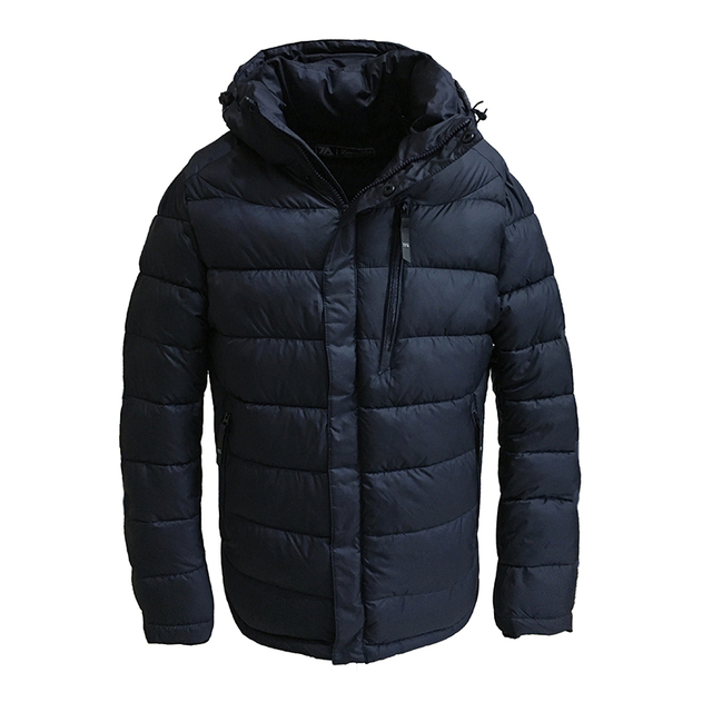 a66467087ef7 2019 New Winter Jacket Men Polyester Padded Jackets Puffer Jacket Bio-based  Cotton Hooded Warm
