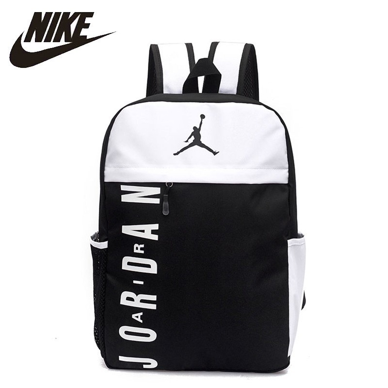 Nike Air Jordan Man Training Backpack Large Capacity Woamn Sports Gymbag