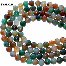 New High Quality Peacock Agat Mix Color Natural Stone Beads 6 8 10 12 MM For Jewelry Making DIY Bracelet Necklace Strand 15'' все цены