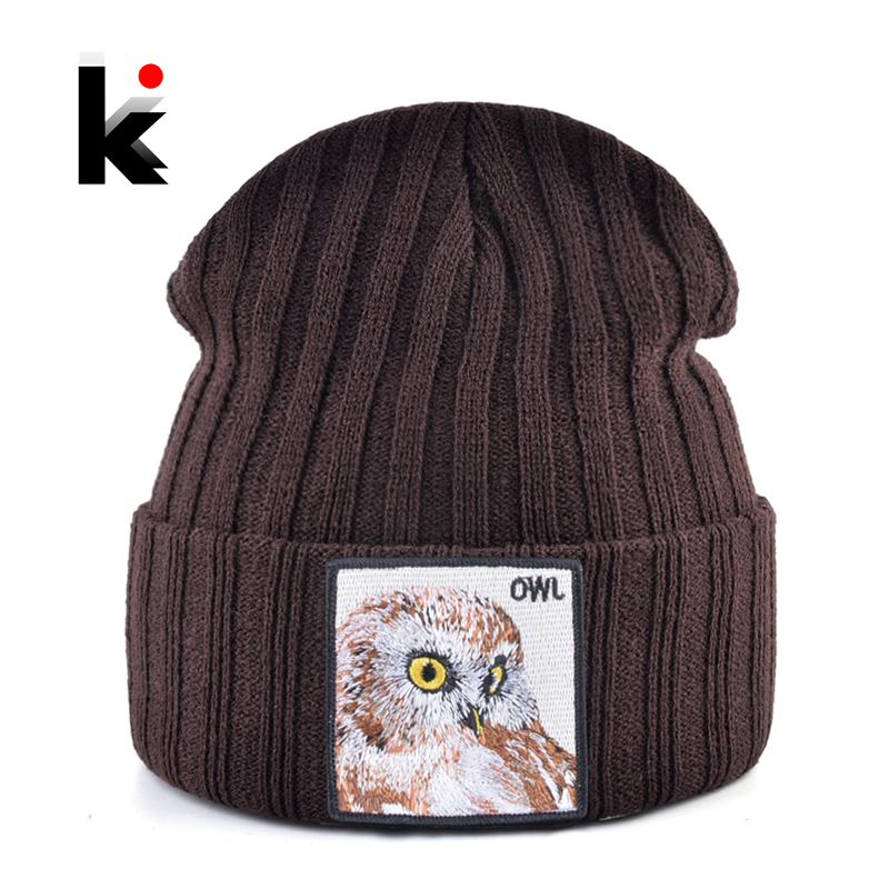 New Fashion Knitted Hats Men Autumn Winter Soft Skullies Beanie Women Knitting Gorras Solid Color Hip Hop Bonnet Cap Boys Girls