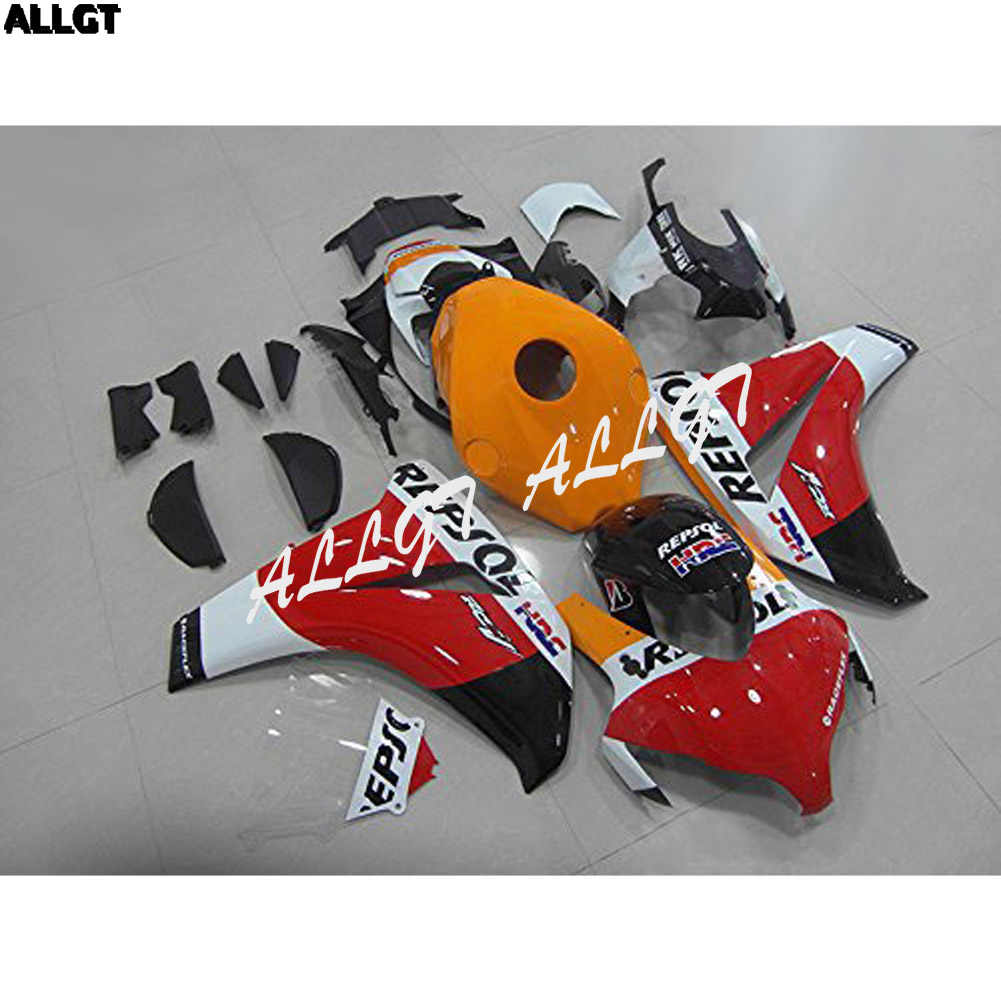 ABS Injection Yellow Red White Fairing Kits Fit Honda CBR 1000 RR 2008 2009 2010 2011