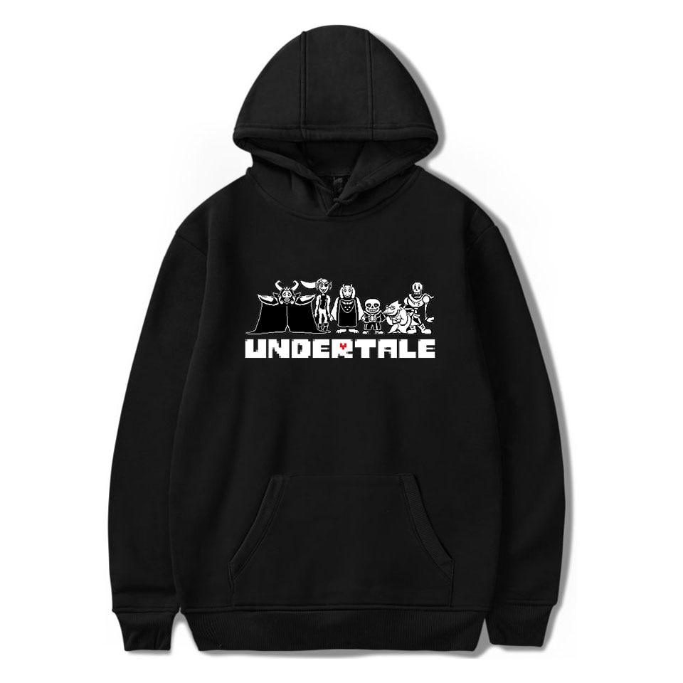 Aikooki New Arrival Undertale Sweatshirts Men/Women Fashion Casual Hip Hop Hoodie Print Undertale Mens Hoodies Pullovers Hooded