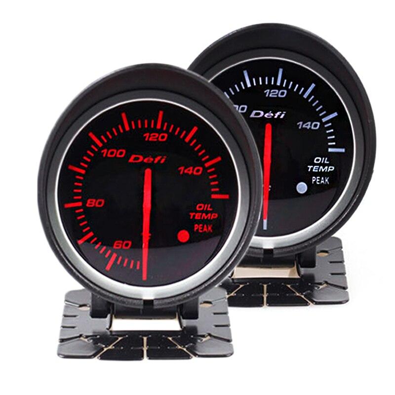 Defi BF 2.5 polegada 60mm Auto Volt Medidor de óleo Medidor de temperatura da água temp oil press rpm vácuo boost ext temperatura do ar/combustível Proporção bitola