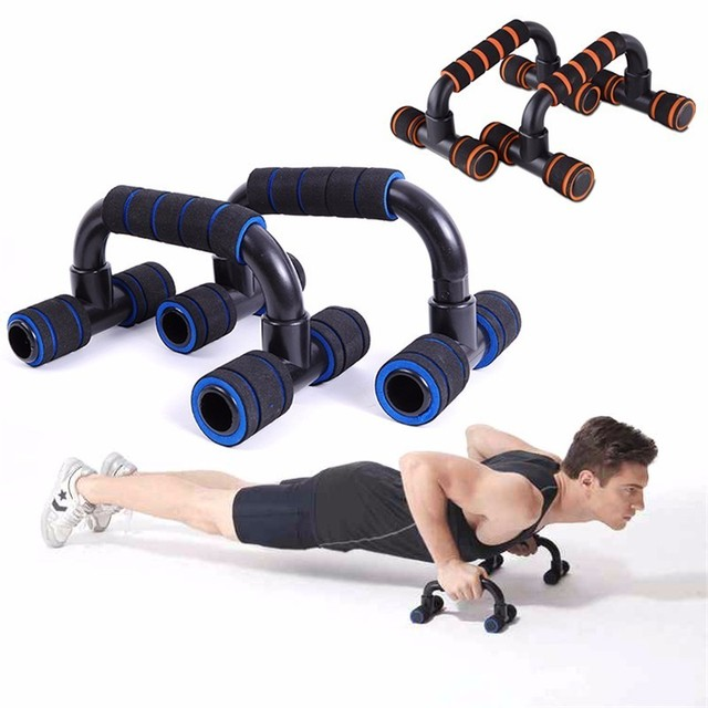 2pcs i type push up bar home gym push ups stands handles set