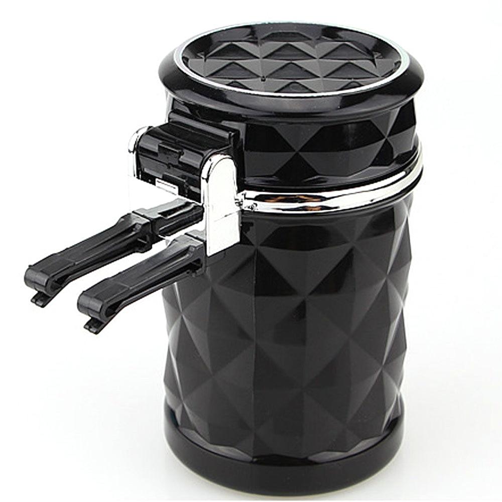 Портативный светодиодный светильник, автомобильная пепельница, универсальный держатель для сигарет, автомобильный Стайлинг, товары для интерьера