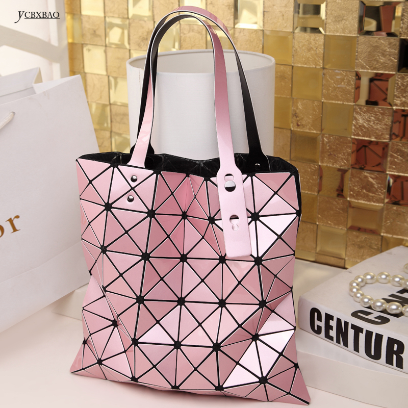Bao bao Multicolor Geometric Women Bags Diamond Patchwork Women Shoulder Bag Portable tote handbag BAOBAO bag Bolsas Feminina rainbow magic rubik s cube tote diamond geometric bao bao high capacity handbag bags women colorful plaid mosaic shoulder bag