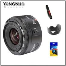 Yongnuo 35mm obiektyw szerokokątny Obiektyw YN35mm F2 Duży Otwór Naprawiono Automatycznej Regulacji Ostrości Obiektywu Do canon