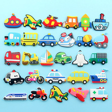 1pcs  Wooden Refrigerator Magnet Fridge Stickers Animal Cartoon Colorful Kids Toys for Children Baby Educational
