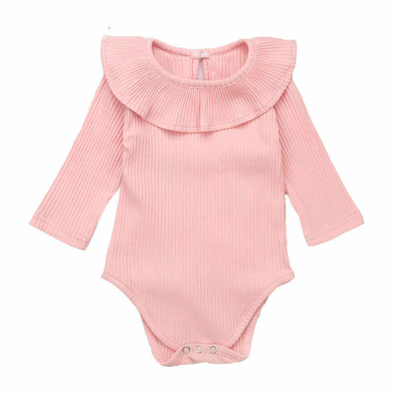 7e4e0c7ab779 ... Korean Newborn Baby Clothes For Girls Baby Girl Rompers Fashion Spring Long  Sleeve Kids Boys Jumpsuit ...