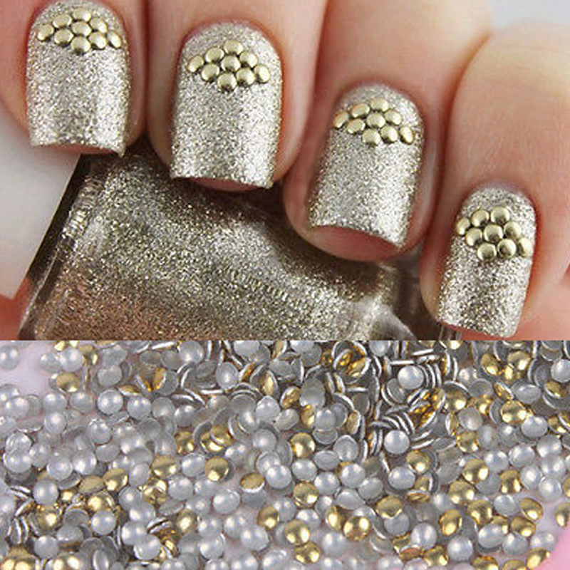 golden stud rhinestones Acrylic UV Gel Nail art Decorations for DIY 1 bag 1.5mm biutee 12 colors nail rhinestones 4mm acrylic nail art rhinestones decoration for uv gel phone laptop diy nail tools