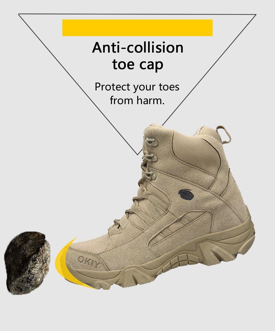 do exército deserto combate botas de neve
