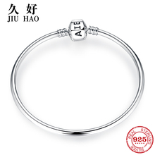 New arrival 100% 925 Sterling Silver Charming Bracelets Charms 2018 Fashion L woman Bracelet Bangles Luxury Jewelry